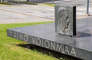 Kasvu / Väinö Voionmaan muistomerkki