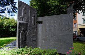 F. E. Sillanpään muistomerkki