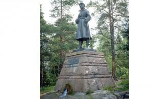 Mannerheimin patsas
