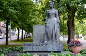 Minna Canthin muistomerkki