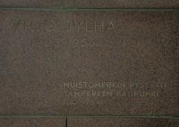 Yrjö Jylhän muistomerkki / Runoratsu